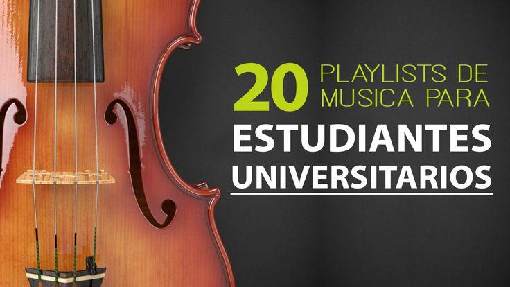 Música relajante para estudiantes universitarios - Oye Juanjo!