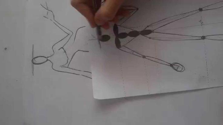 silüet çizimi