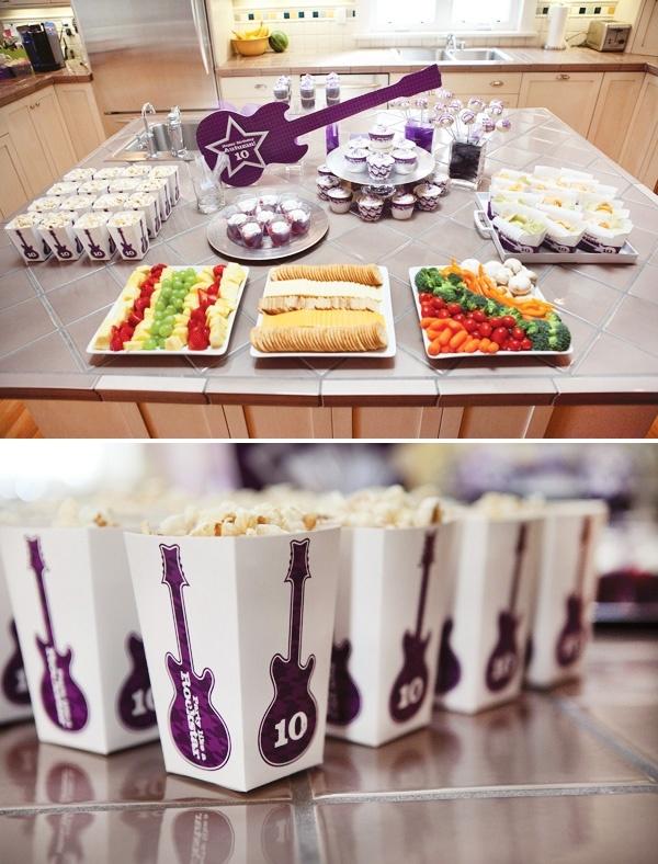 ROCKSTAR Girls Birthday Party Thanks party-ideas :)