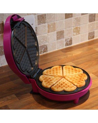Gourmet Gadgetry // Pink Waffle Maker, Designer Kitchen Gadgets - £27.50