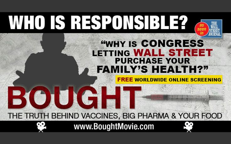New BOUGHT Documentary reveals insidious truth behind Vaccines, GMO's & Big Pharma.  WORLDWIDE FREE ONLINE SCREENING Plus Bonus Interviews and Exclusive Footage September 16, 2015 - September 27, 2015
