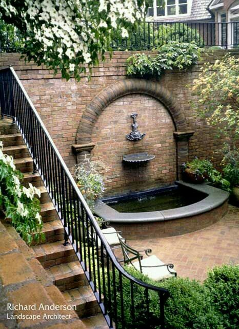 Co Co's Collection : Formal garden inspiration # formal # border # garden # fountain