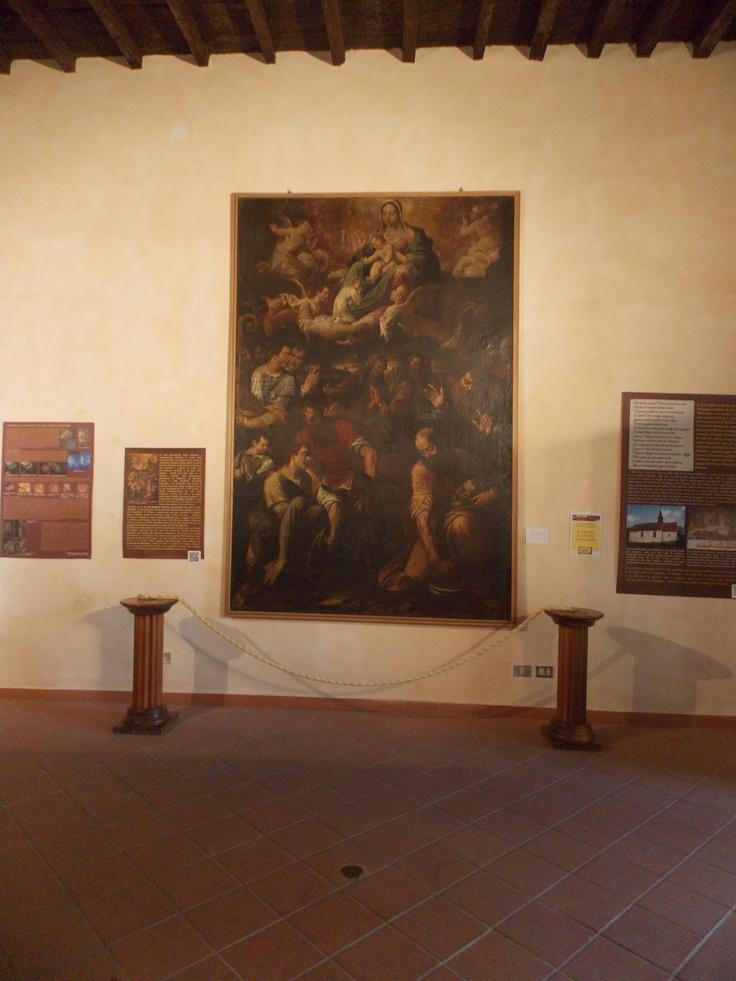La tela di Domenico Procaccini.
