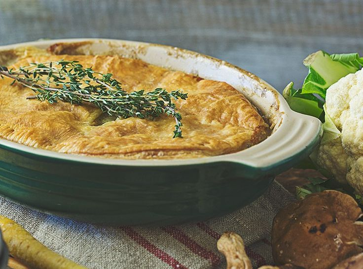 Creamy Vegan Pot Pie
