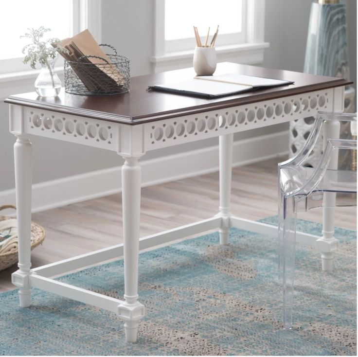 small wood writing desk 13 free diy desk plans home depot has a diy desk plan to build this modern desk that has a concrete top and wooden legs it's a small printer's writing desk.