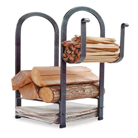 Fire Center Wood Holder #LearnShopEnjoy