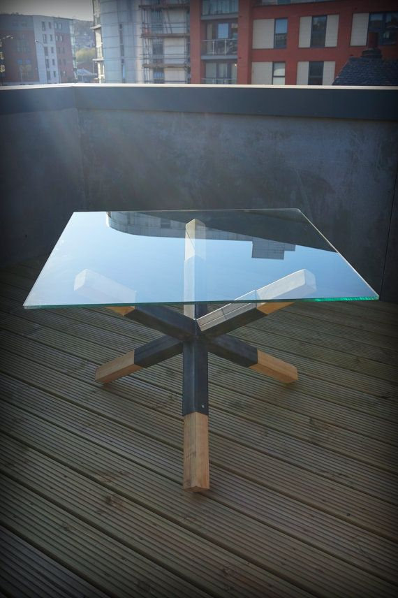 glass top office table chic. outdoor modern industrial chic glass top u0027mineu0027 dining table hand made all steel custom bespoke home decor office 291 r