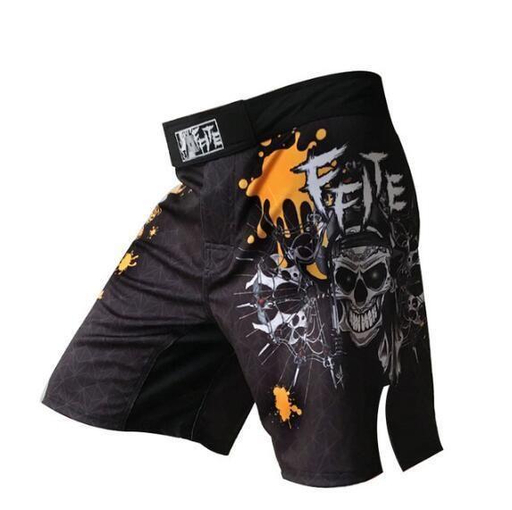 Loose MMA Sanda Muay Thai Boxing Shorts Quick drying /& Comfortable Shorts New