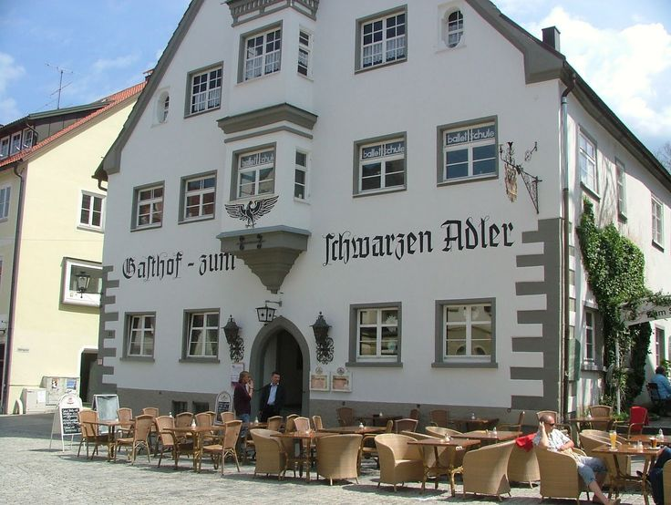 Isny may be the reason I decide small town living ain't so bad.   Schwarzer Adler in Isny im Allgäu. Ate the biggest, cheapest and freshest meal here. And that's saying something.