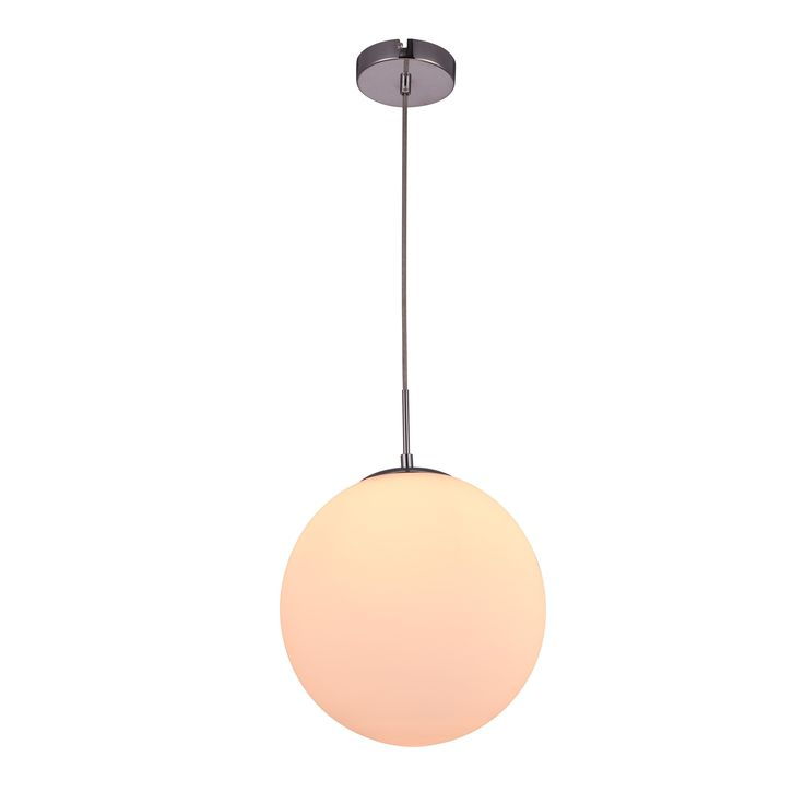 Elegant Living District Opal Collection Off-White (Beige) Pendant (Off-White Pendant) (Glass)