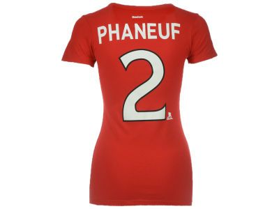 Ottawa Senators Dion Phaneuf Reebok NHL Women's Player V-Neck T-Shirt