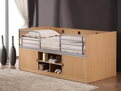 Birlea Oregon Cabin Bed 3' Single Cabin Bed