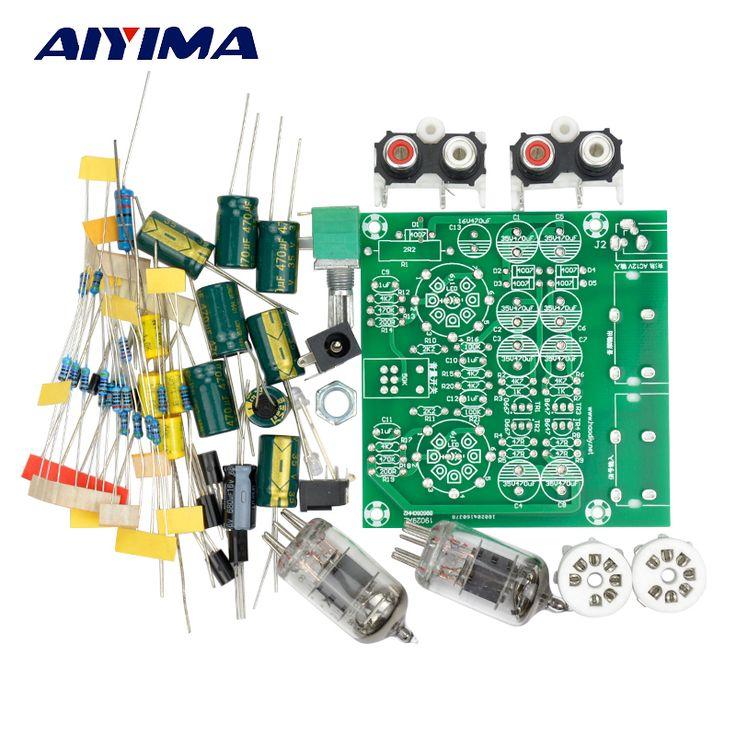 best price aiyima 6j1 tube pre amp amplifier board valve buffer preamp amplifiers diy kits tube #tube #amplifier #kit