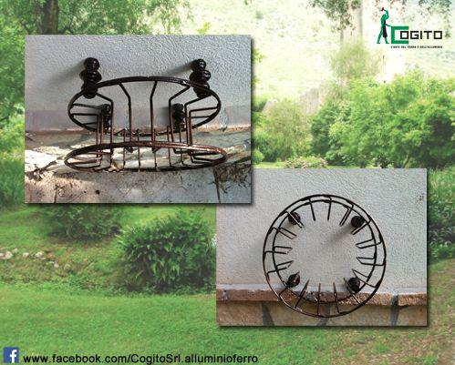 #Portatubo da #giardino. #garden #ferro #iron