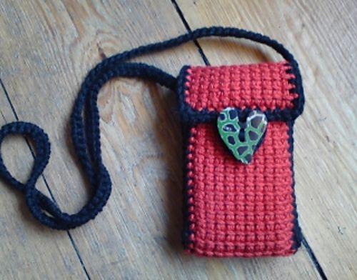 Cell Phone Bag Purse Crochet Purses And Bags Pinterest