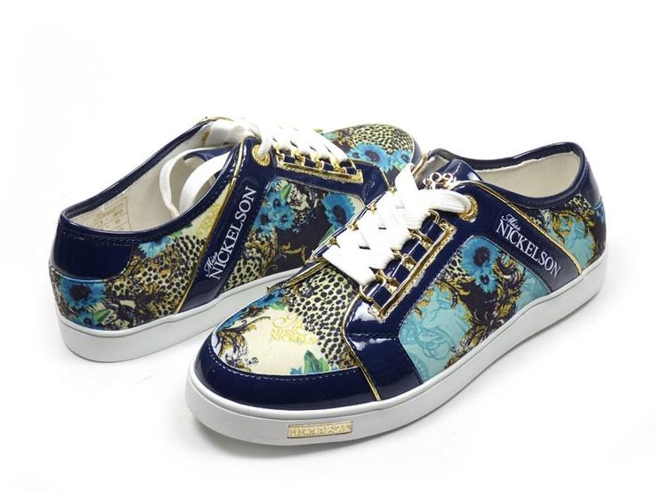 Nickelson Felice sneaker - blauw / combi