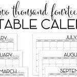 The TomKat Studio: Free 2014 Printable Calendar in Color :: The TomKat Studio