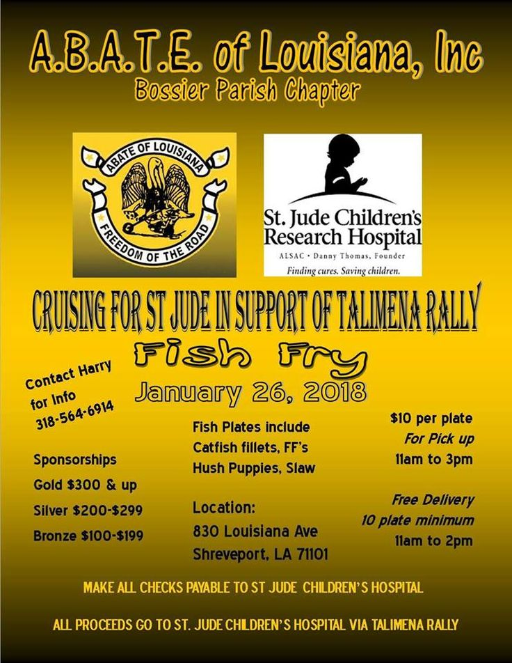 Shreveport, LA - Jan. 26, 2018: Cruising for St. Jude in support of Talimena Rally. All proceeds go to St. Jude Children's Hospital.
