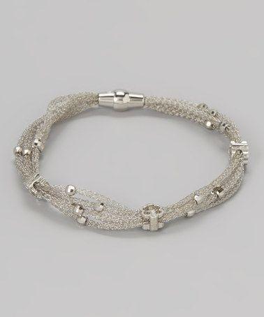 Sterling Silver Sparkle Bracelet