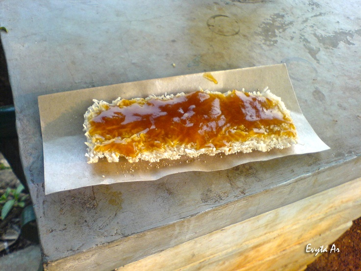 "This is ""Kue Rangi"", one of traditional cake from Betawi tribe, Jakarta - Indonesia (Taken at Setu Babakan, South Jakarta)"