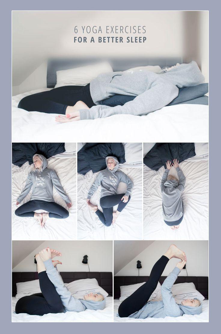 6 Yoga execises for a better sleep | JuYogi