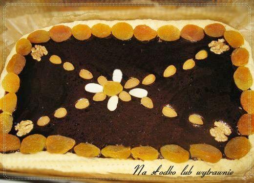 Na słodko lub wytrawnie: Mazurek kakaowy