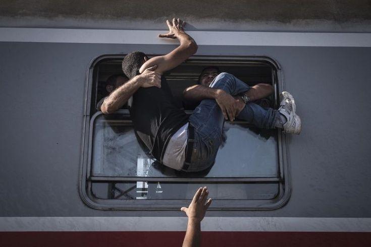 Reportage sur la crise des migrants en Europe. (Sergueï Ponomarev / World Press Photo)