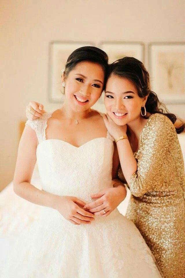 ❤ bride + moh