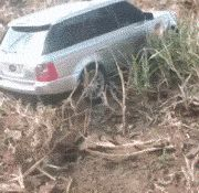 Rescuing A Car Stuck In The Mud