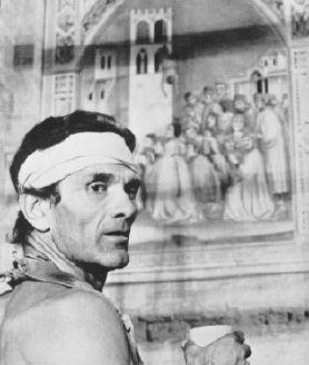 Pier Paolo Pasolini Giotto #neorealism #director #regista #movie #cinema #pierpaolopasolini #pasolini