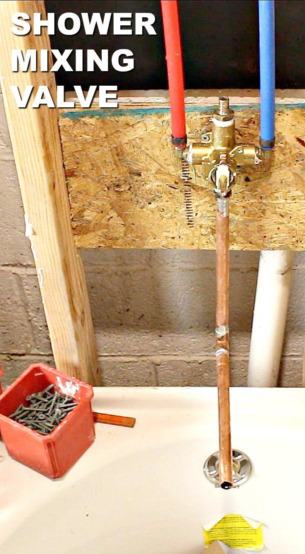 How To Install Moen Shower Valves En 2020 Plomberie
