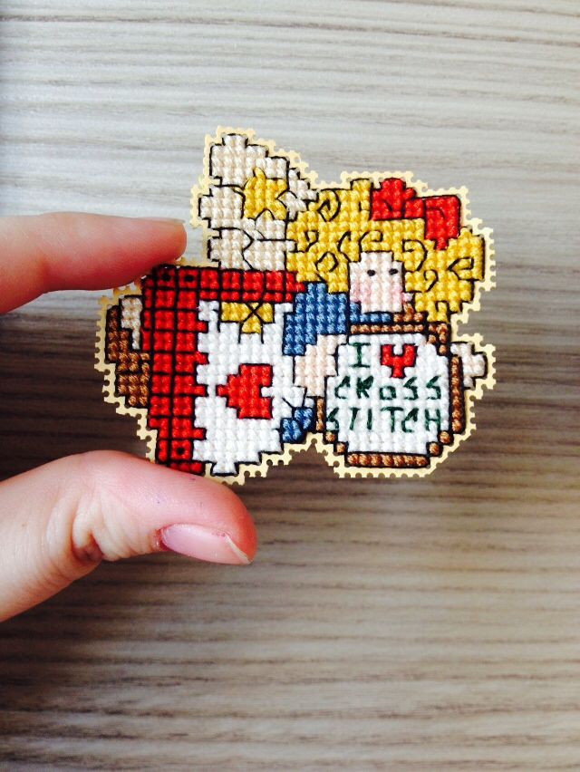 CCS Cross stitch angel