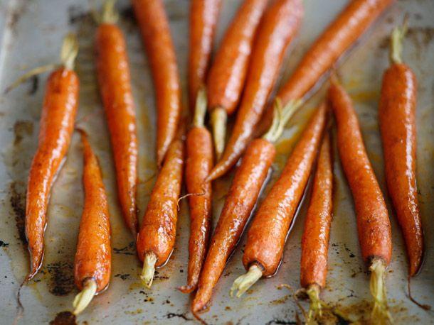 Tender and Sweet Bourbon Glazed Carrots #carrots #bourbon #brownsugar ...