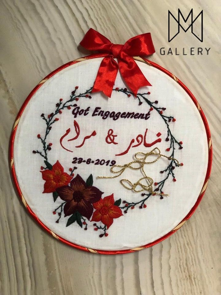 Embroidery Facebook Sign Up Embroidery Decorative Plates