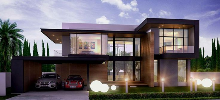 Modern residential house conceptual design ideas for the for Modern unique house plans