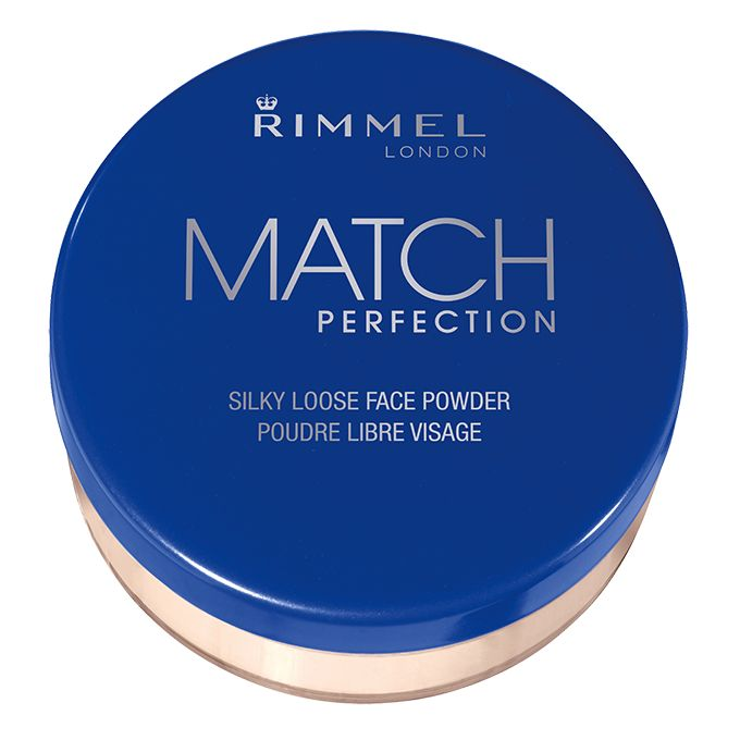 Rimmel Match Perfection Silky Loose Powder $?? :: Apply with powder brush over foundation or bare skin. Translucent Loose Powder for a flawless and natural finish. Lightweight, velvety texture. Easy to apply and blend. Long-wearing formula.