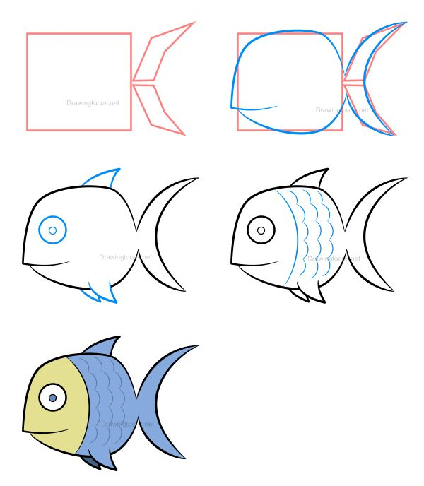 25 Best Ideas About Fish Drawing Images On Pinterest
