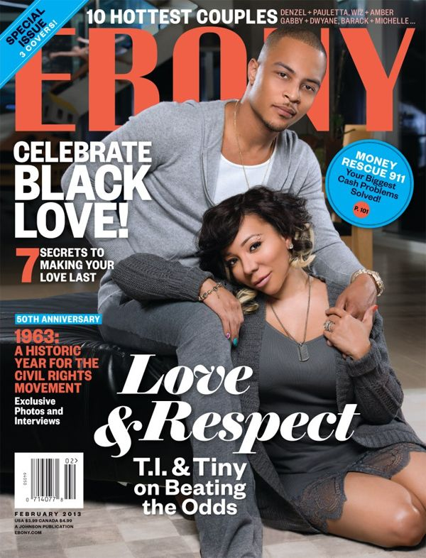 T.I & Tiny COVER Ebony Magazine Along With Meagan Good & DeVon Franklin! ~ Gossipwelove