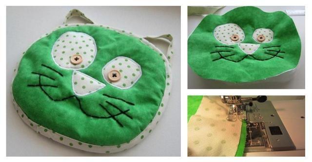 DIY: Własnoręcznie wykonana poduszka w kształcie głowy kota. Dziecinnie proste! #KOT #PODUSZKA #DIY #ZRÓB TO SAMA #KROK PO KROKU #DEKORACJE DODATKI