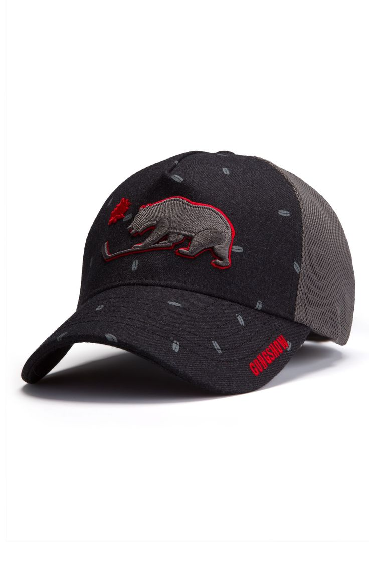 Just Give The Beast Its Biscuit Black Hockey Hat - Gongshow Gear - Lifestyle Hockey Apparel