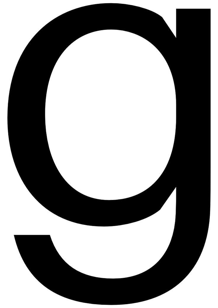 lowercase g lowercase lett