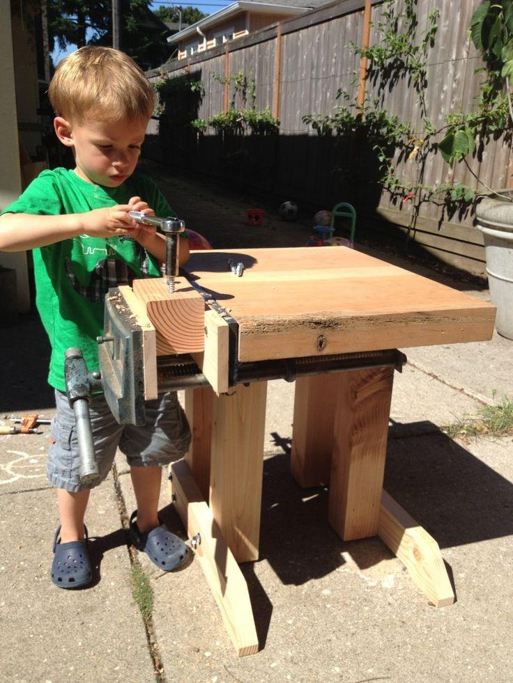 Best 20 Kids Workbench Ideas On Pinterest Kids Work