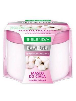 BIELENDA 200 ML Masło do ciała Bawełna  • silne nawilżanie • całoroczna pielęgnacja skóry • do skóry suchej i wrażliwej