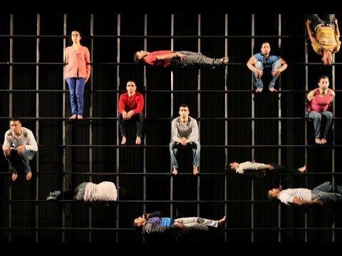 AZIMUT - Aurélien Bory avec le Groupe acrobatique de Tanger - YouTube