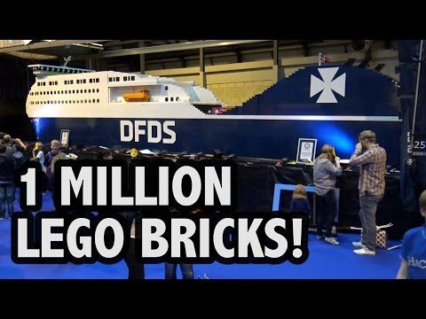 Largest LEGO ship: DFDS breaks Guinness world record (VIDEO)