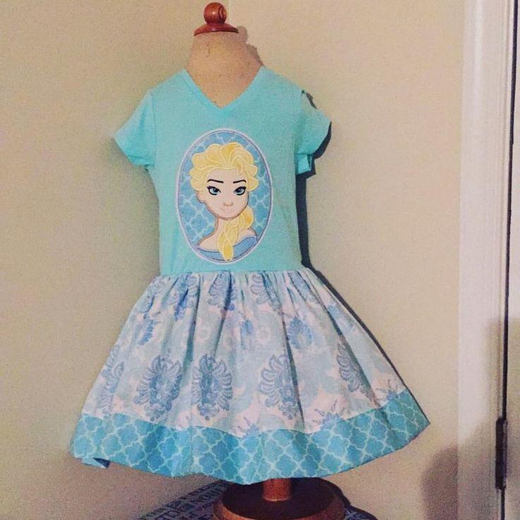 Image of Disney Frozen Elsa Dress