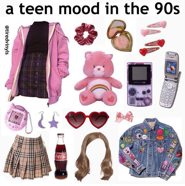 Resultado de imagem para teen mood in the 90s