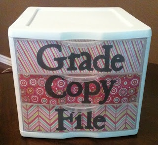 Grade + Copy + File Storage...This would be good for the office!