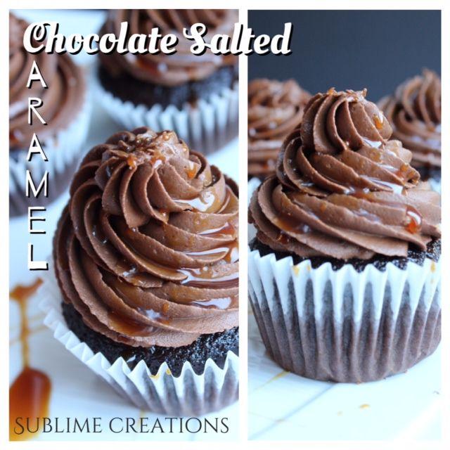 Chocolate Salted Caramel www.mysublimecreations.com