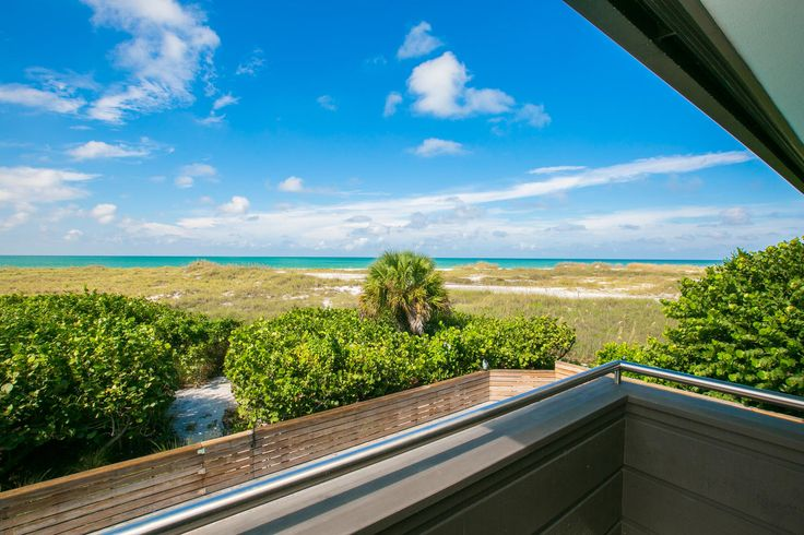 At one with nature - the stunning beach views from Yellowfish.   Yellowfish House is a new property located on the white, sandy beaches of Anna Maria Island, Florida.